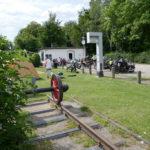 Treffen am alten Bahnhof in Emken.